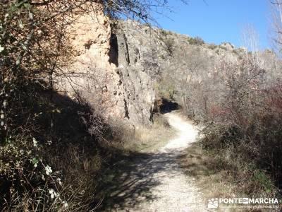 Parque Natural del Barranco Río Dulce;senderismo material sendero norte